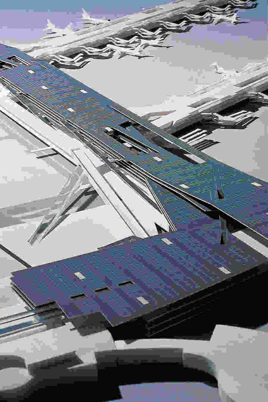036 Vienna International Airport dm model 001
