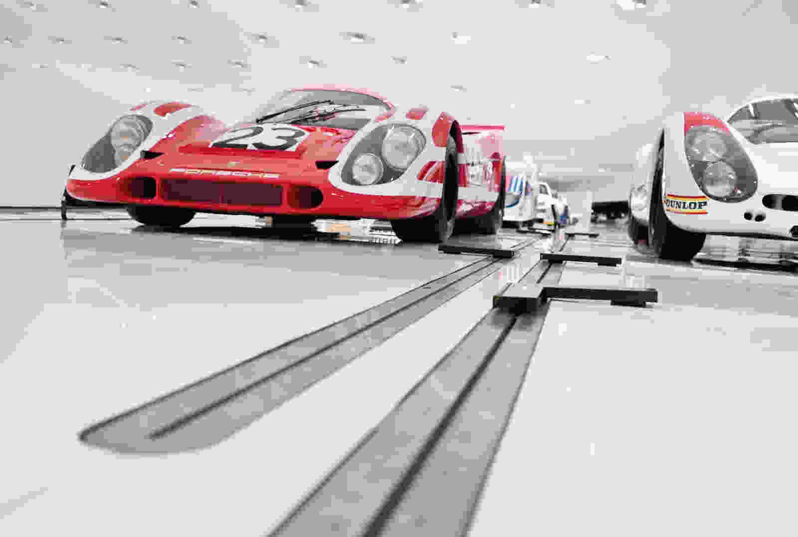 135 Porsche Museum Brigida González 025 interior exhibition