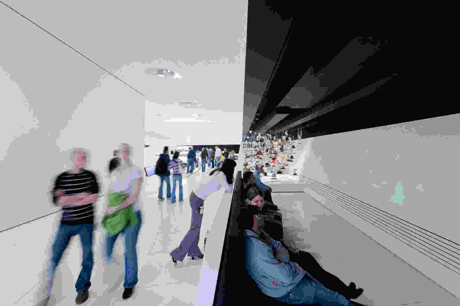 135 Porsche Museum Iwan Baan 011 interior exhibition