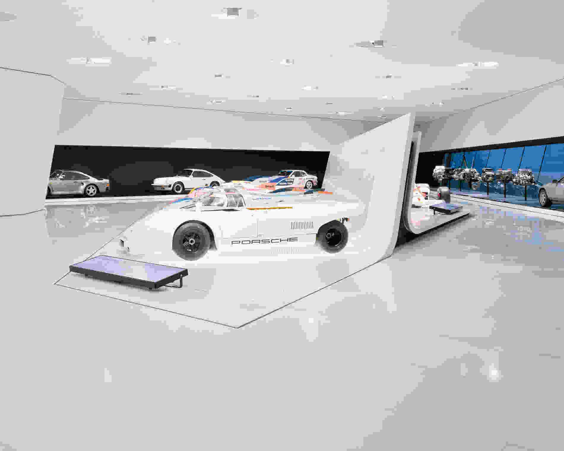 135 Porsche Museum Brigida González 021 interior exhibition