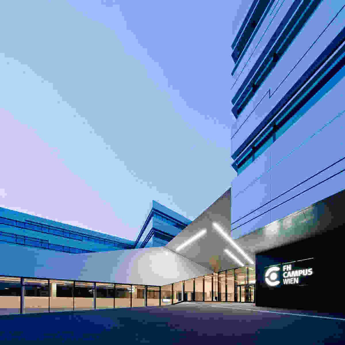 136 FH Campus Vienna Herta Hurnaus 035 entrance