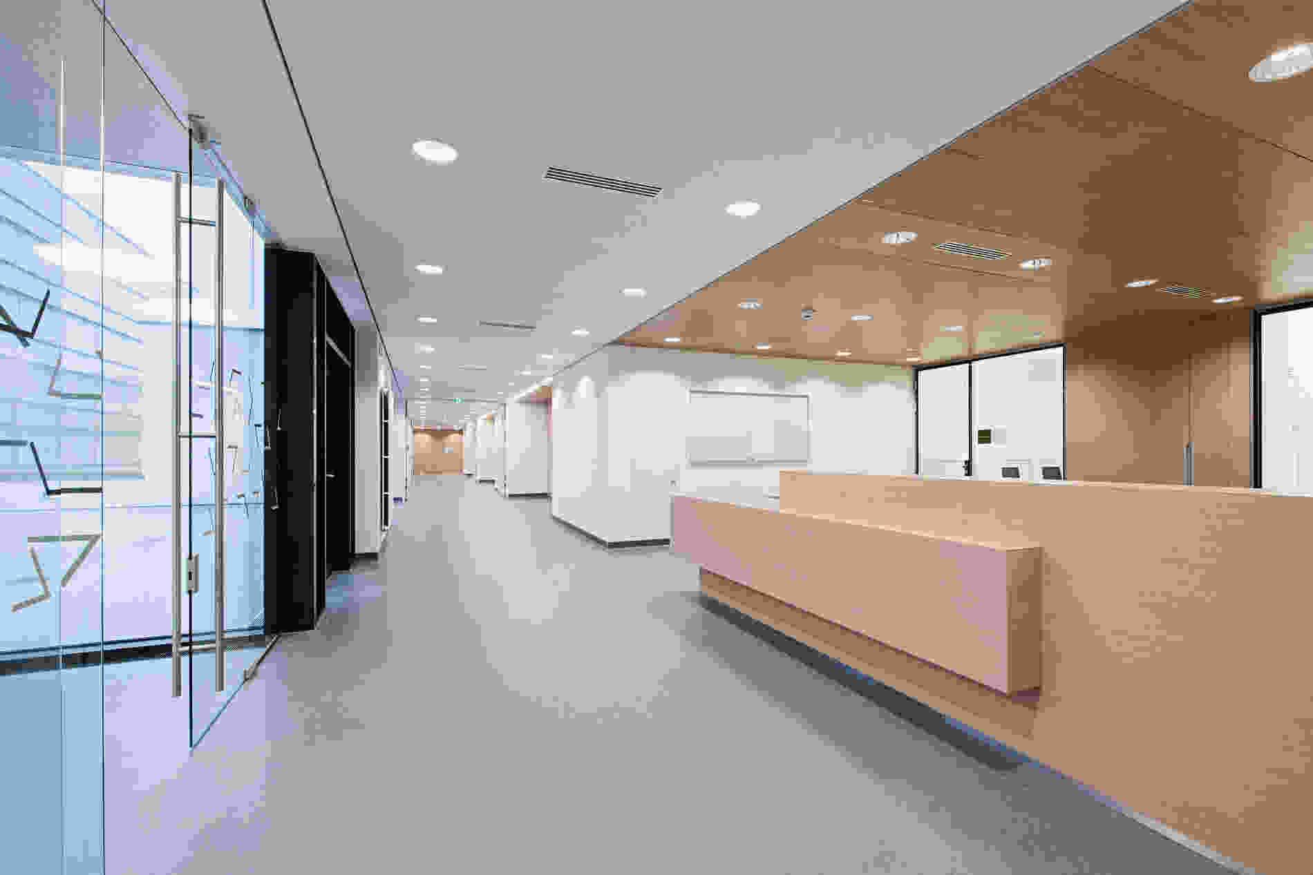 214 Geriatric Centre Donaustadt Herta Hurnaus 010 foyer