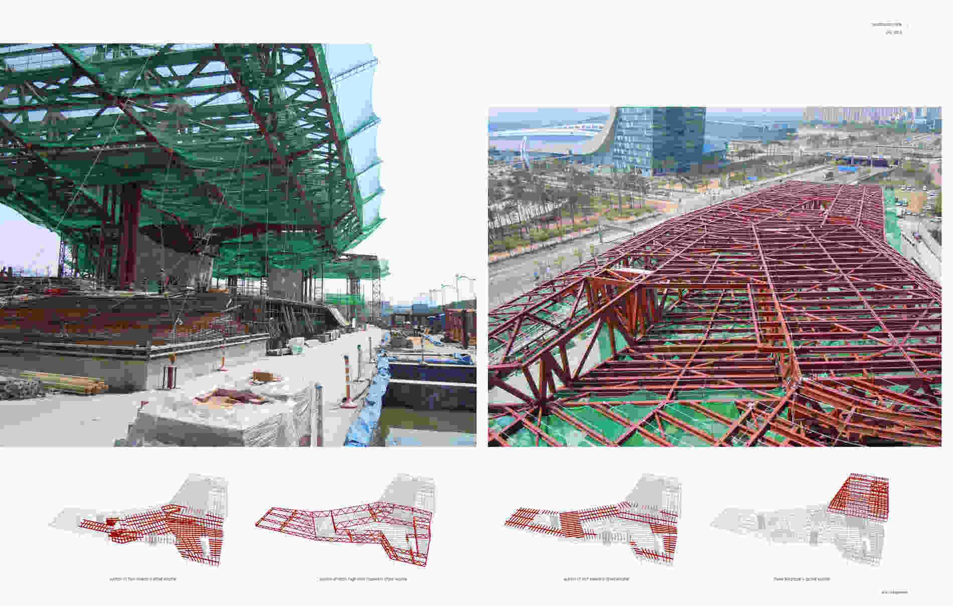 257 Hyundai Motorstudio Goyang structural engineering 002 bollinger grohmann