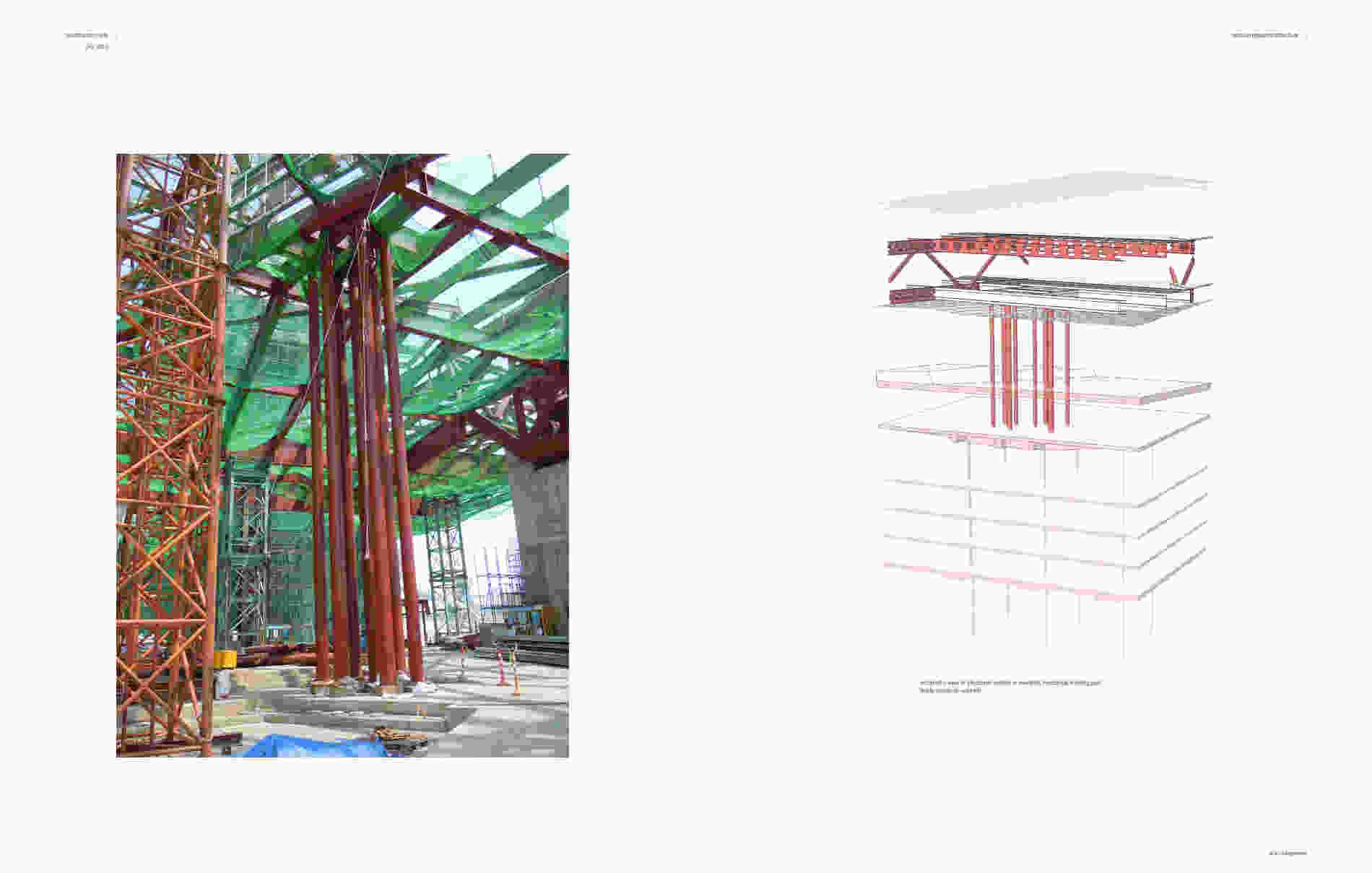 257 Hyundai Motorstudio Goyang structural engineering 003 bollinger grohmann