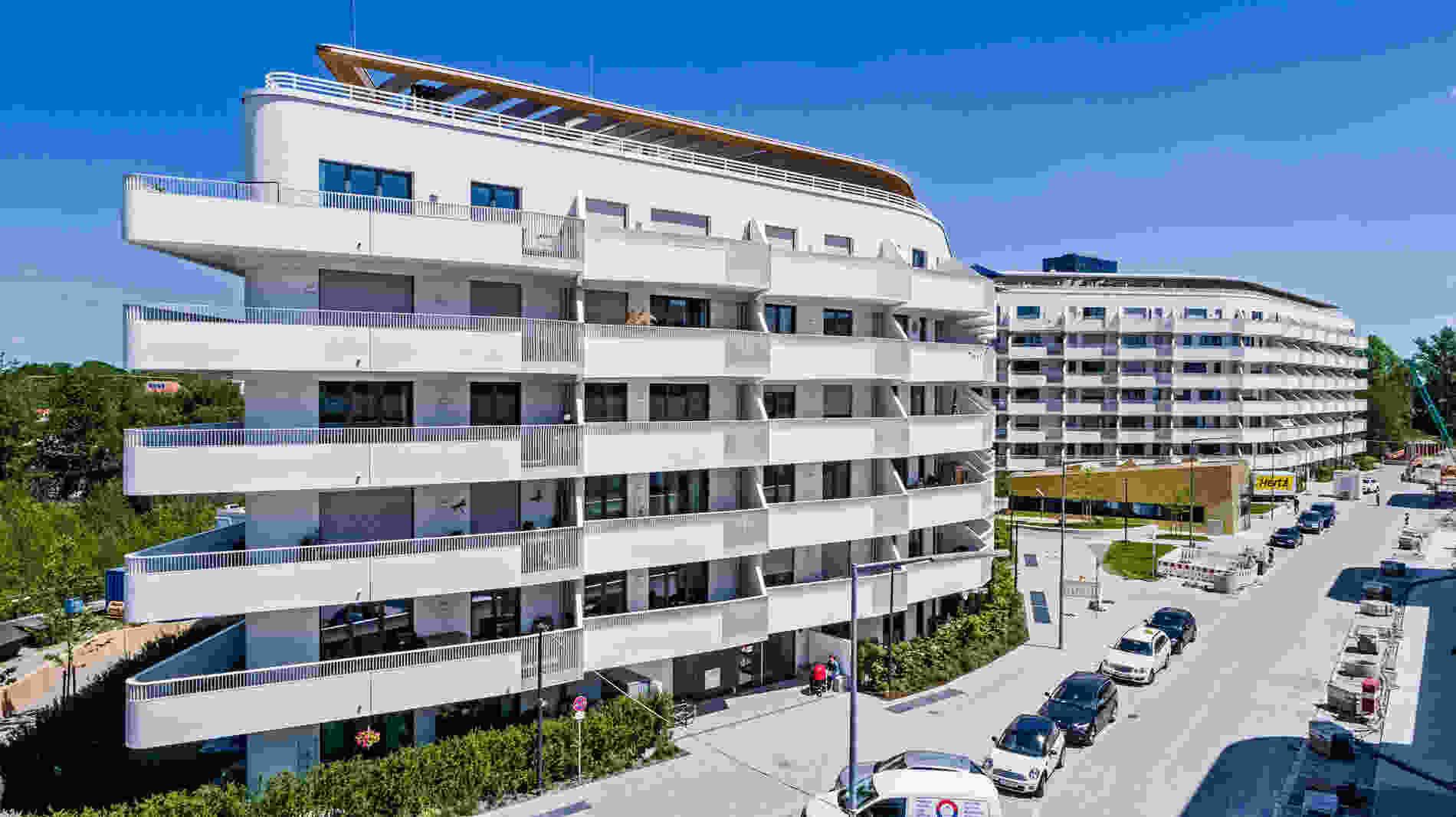 265 Baumkirchen Mitte Rainer Viertelboeck 002 exterior view balconies
