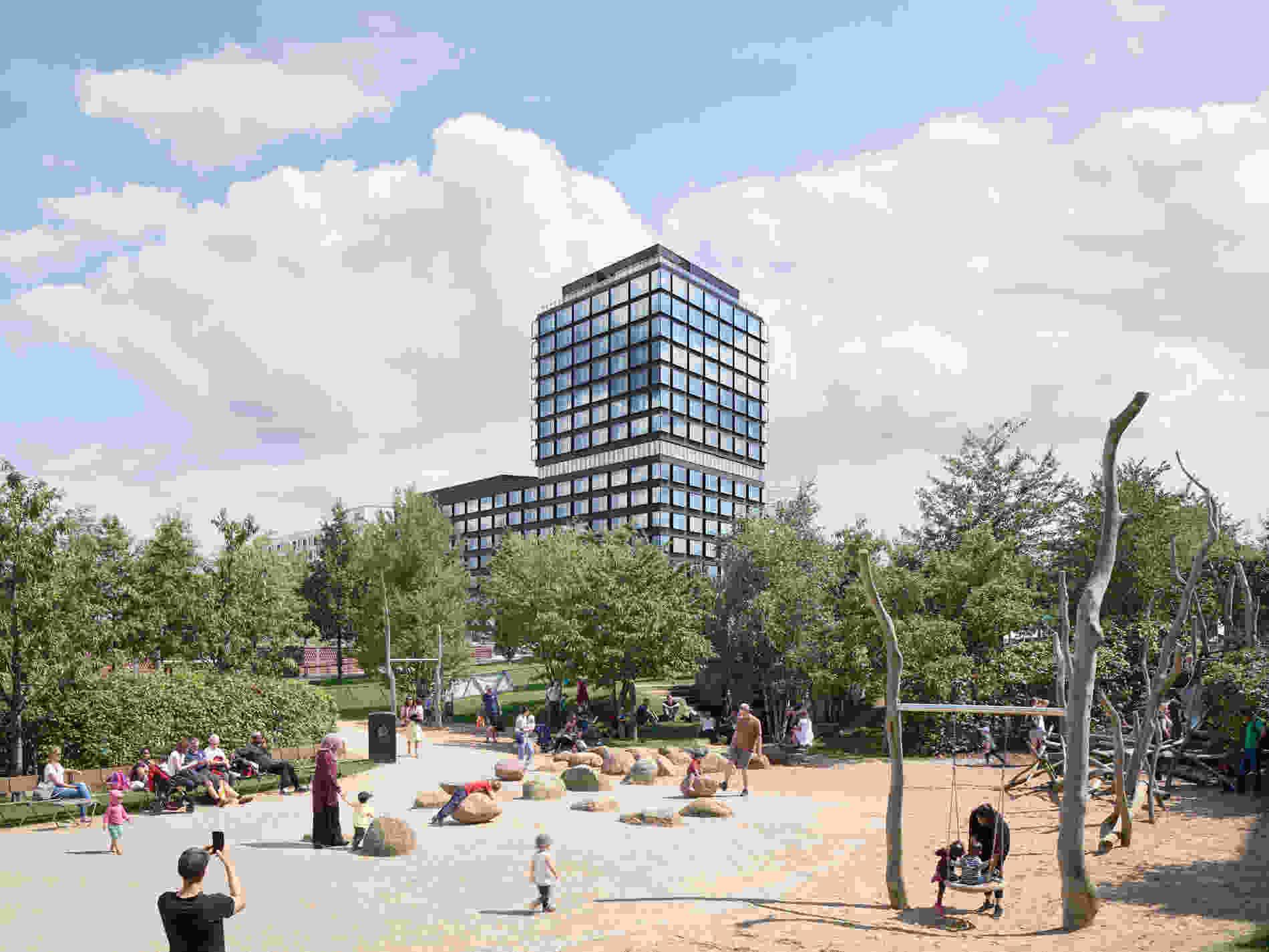 322 Campus Tower Hamburg Piet Niemann 19 1