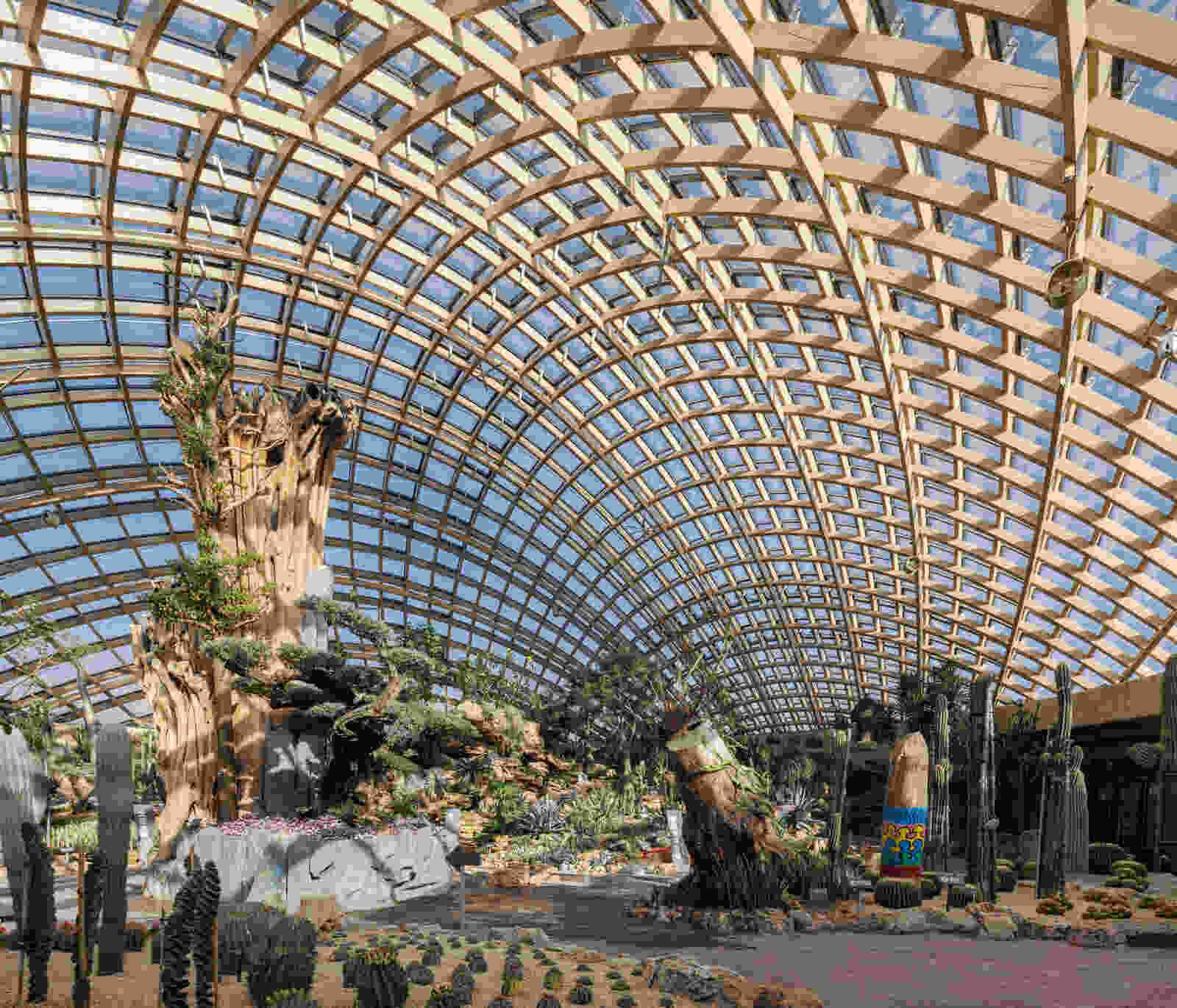 338 dmaa Taiyuan Botanical Garden 02 greenhouse 6349 Pano Creat AR