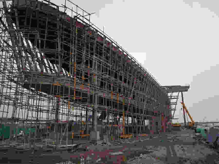 403 Taiyuan Water Sports Center dm construction site 11