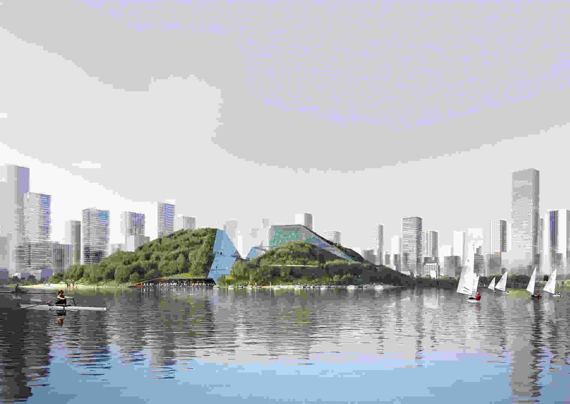404 Foshan Paradise Pavilion dm vis 001 exterior view