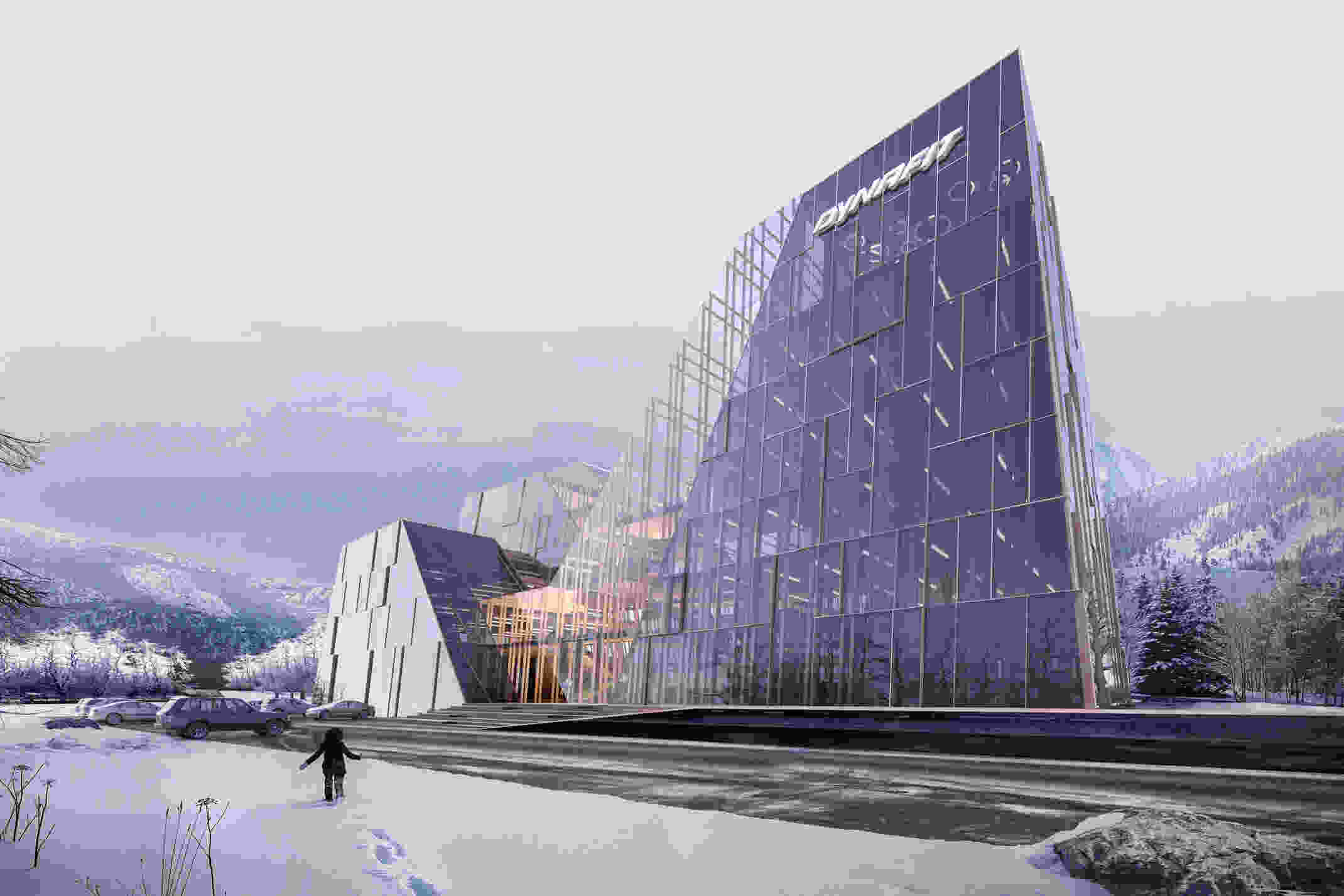 432 dm DYNAFIT Headquarter vis 004 exterior view
